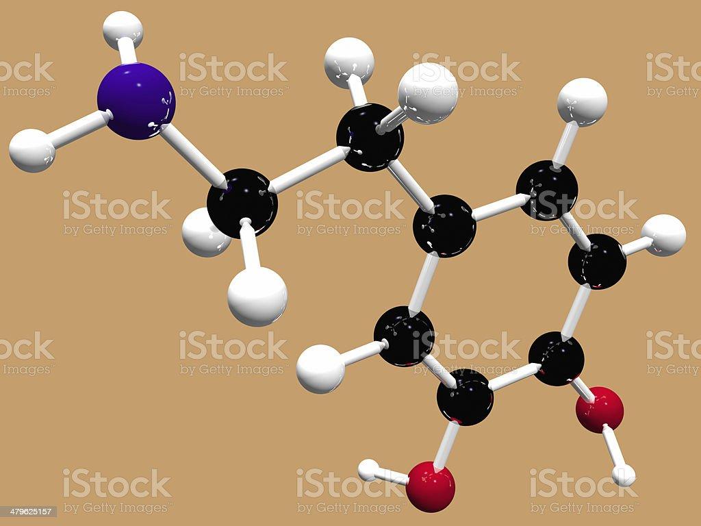 Dopamine stock photo