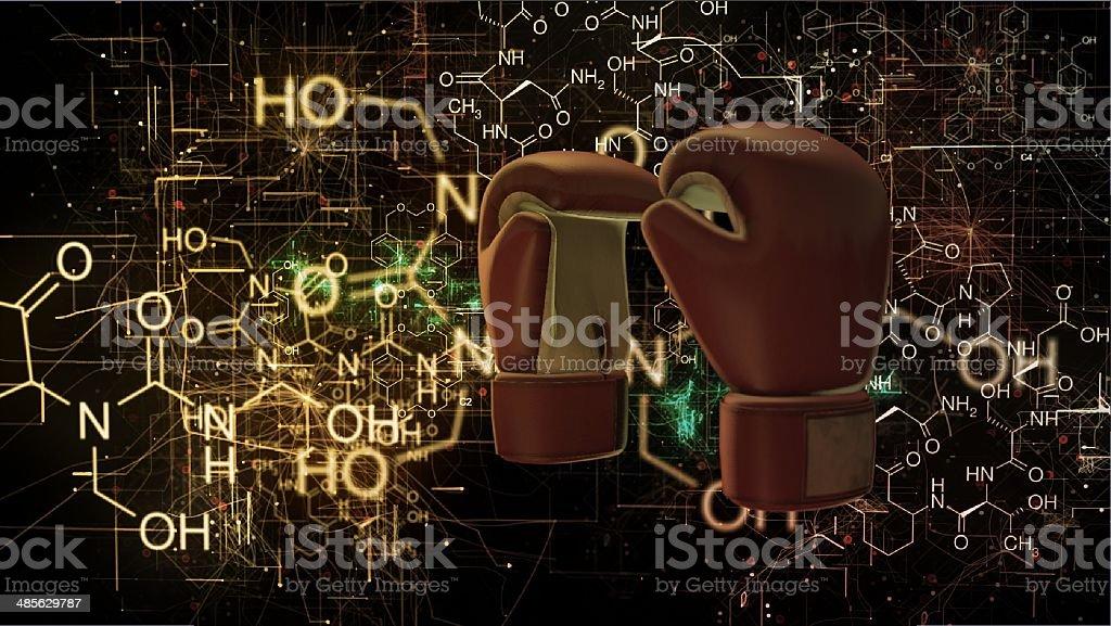 doping boxe stock photo