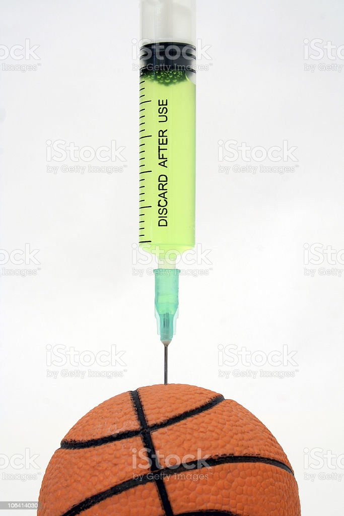Doping royalty-free stock photo