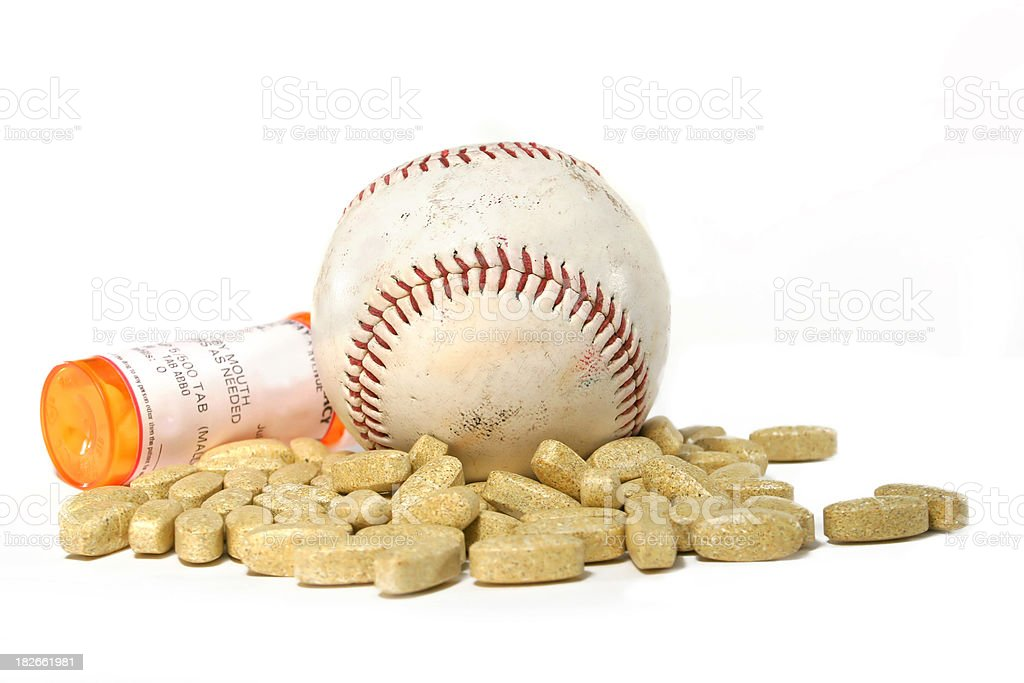 Doping/Nutrition (Baseball) royalty-free stock photo