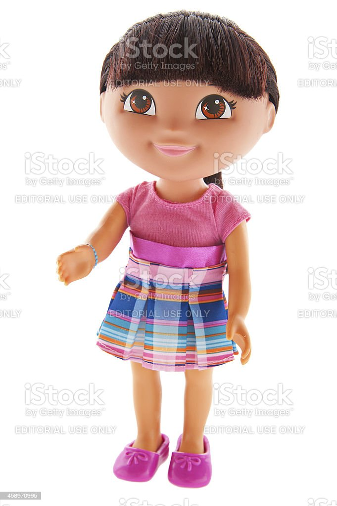Dora the Explorer stock photo