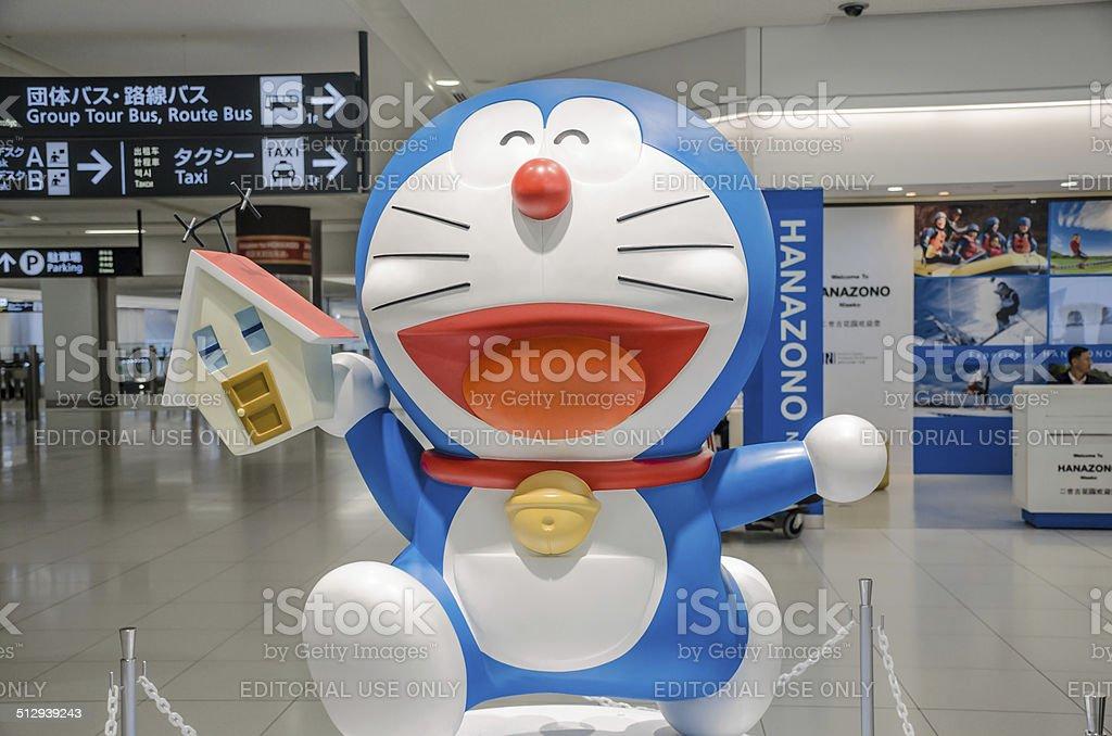 doraemon mascot stock photo