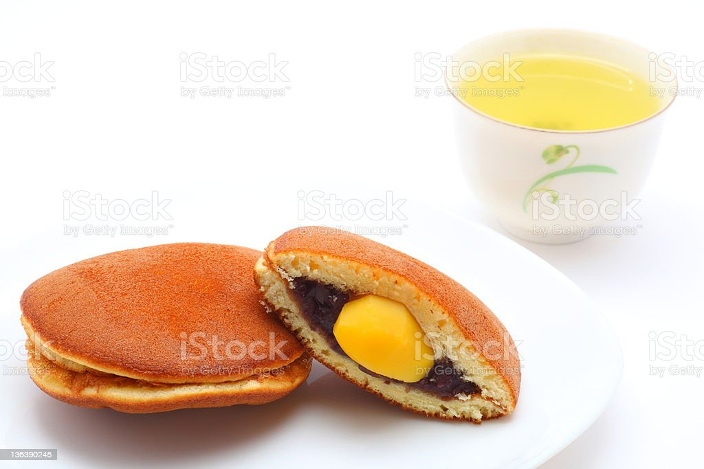 Dorayaki Japanese confectionery royalty-free stock photo
