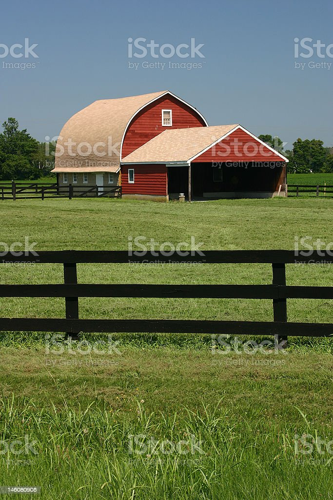 Dorchester Barn royalty-free stock photo