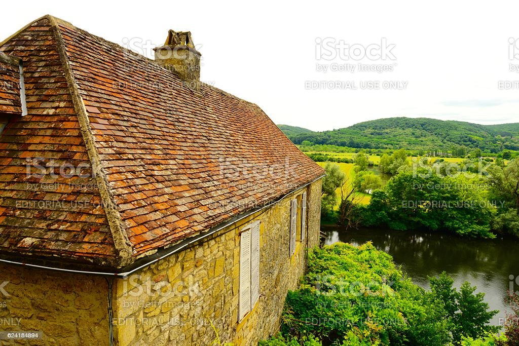 Dordogne stock photo
