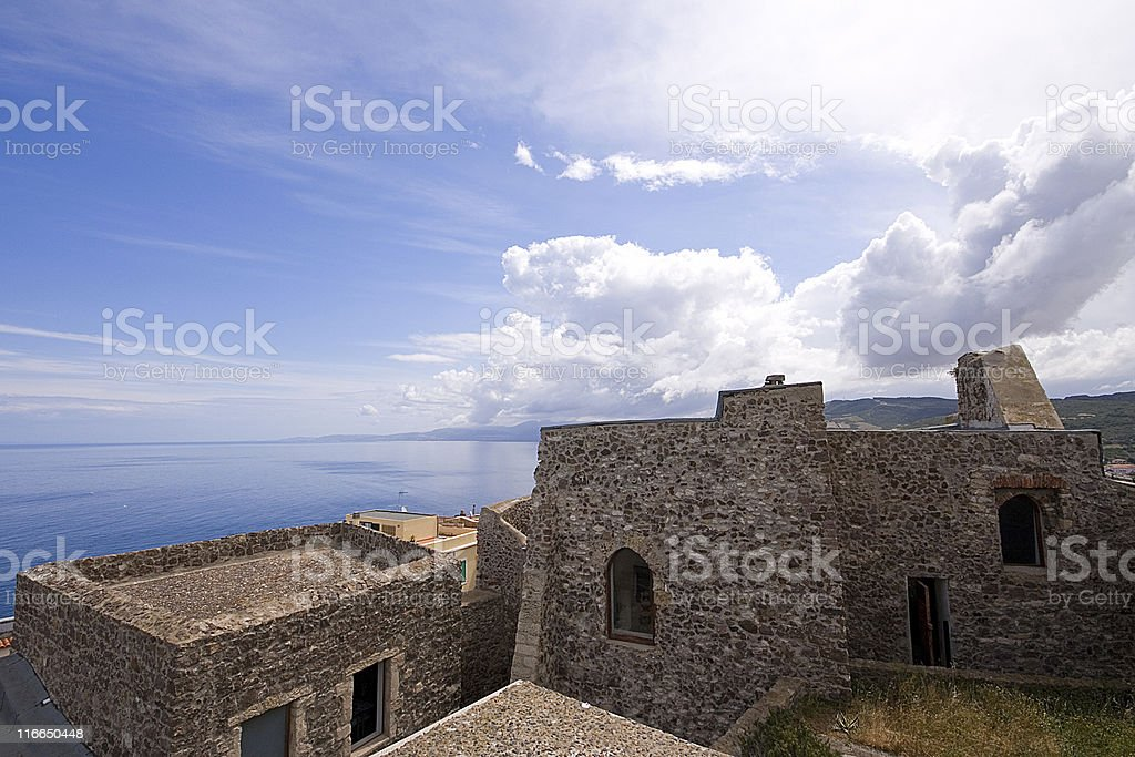 Doria Castle stock photo