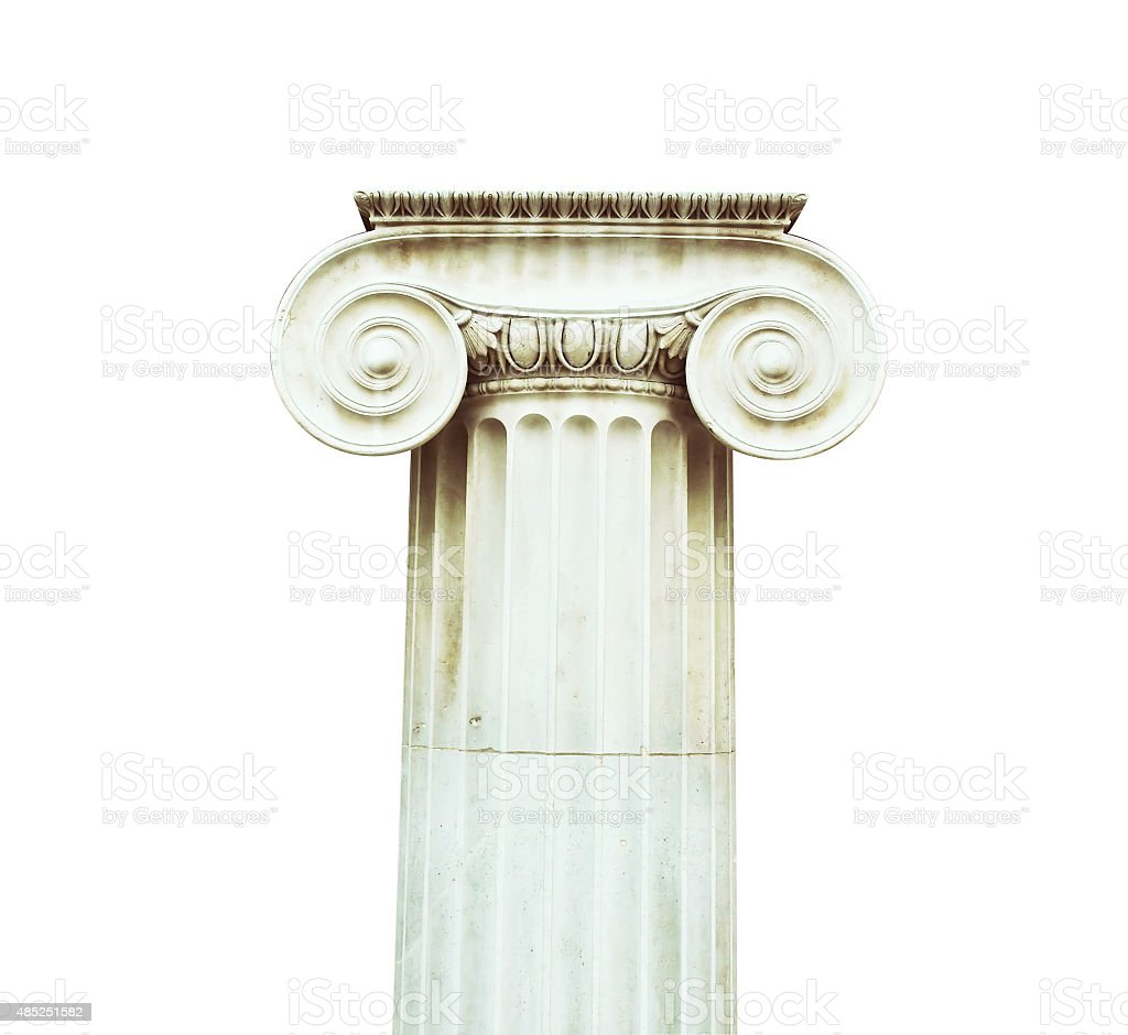 Doric Column stock photo