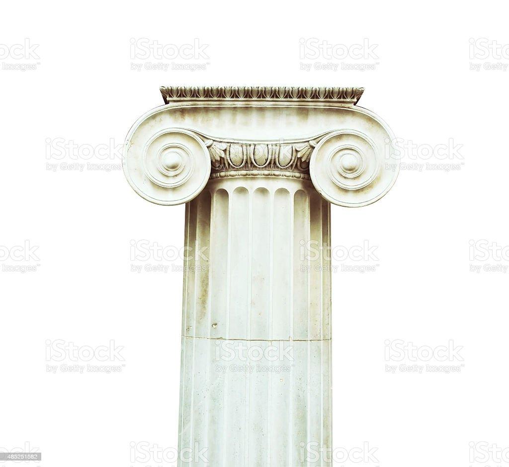 Doric Column stock photo