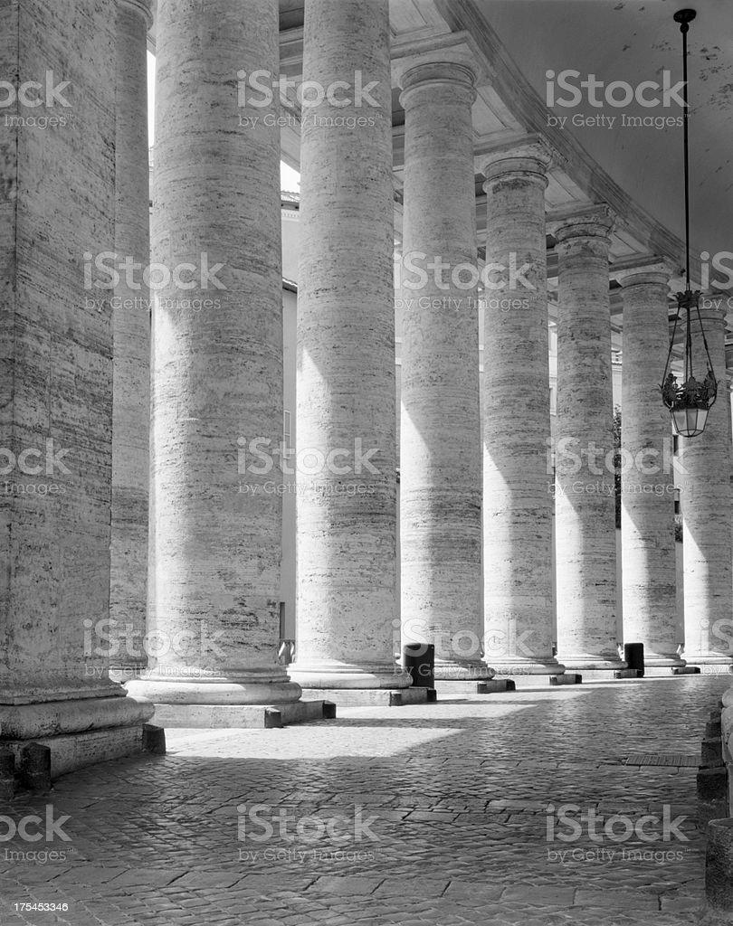 Doric Columns royalty-free stock photo