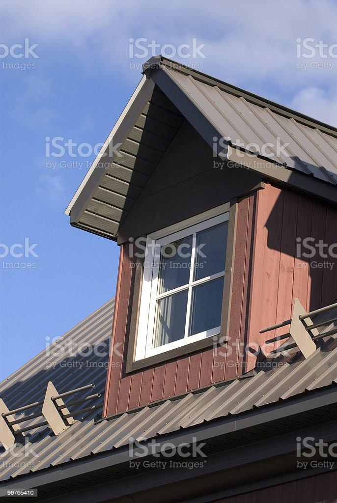 Dormer Window 2 stock photo