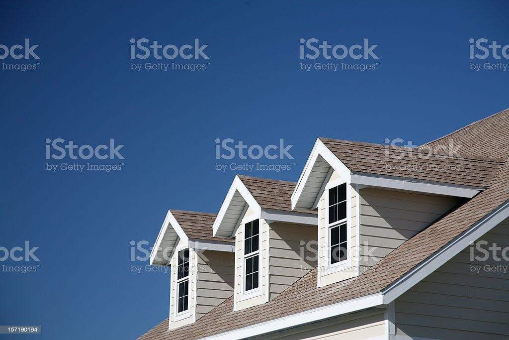 Dormer Windows stock photo