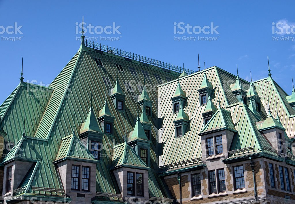 Dormers and Windows stock photo