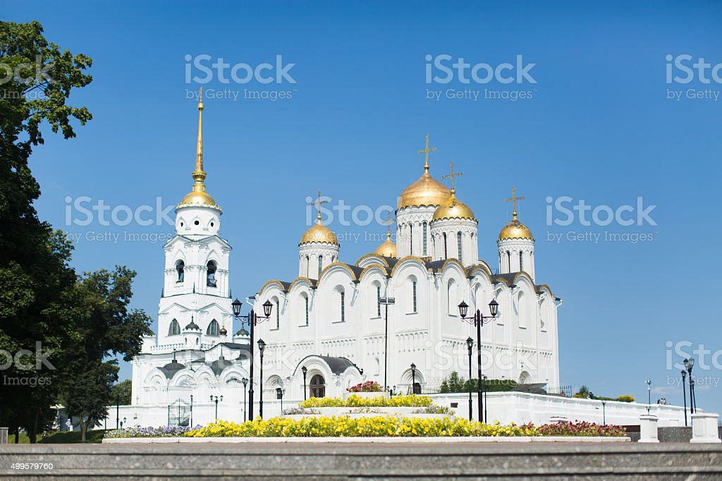 Dormition Cathedral stock photo
