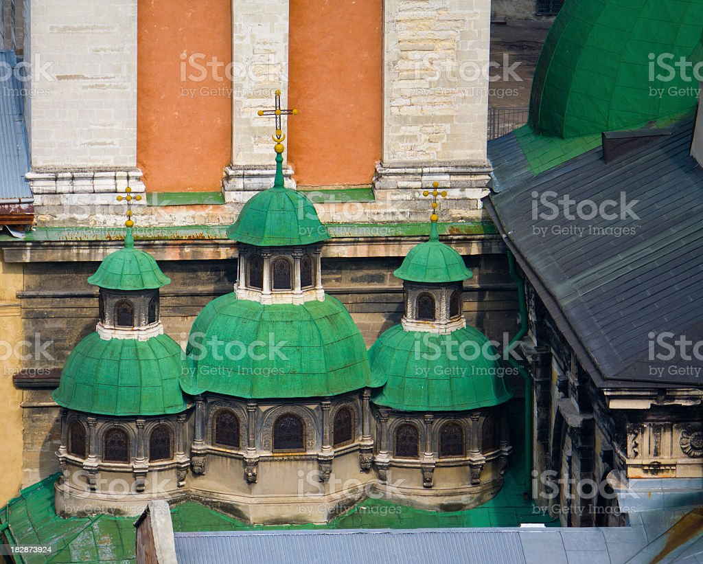 Dormition or Assumption Church. stock photo