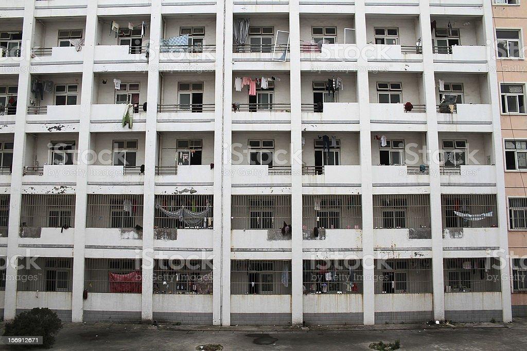 Dormitorio a Suzhou, Anhui foto stock royalty-free