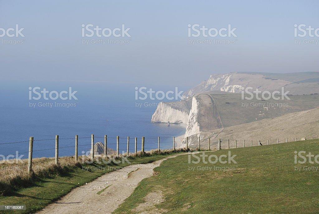 Dorset Coast stock photo