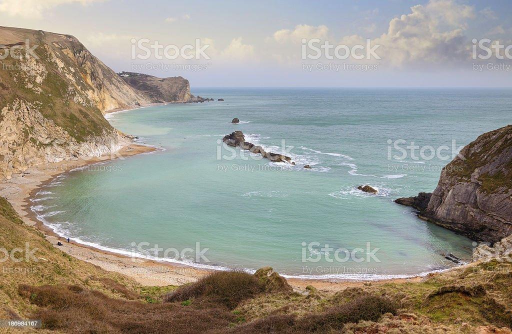 Dorset coast royalty-free stock photo