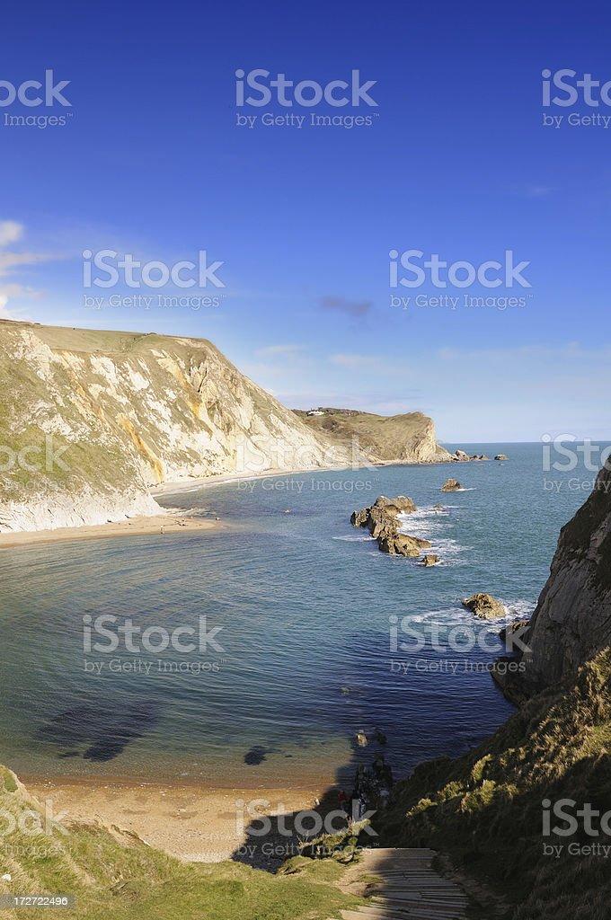 Dorset Coastline royalty-free stock photo