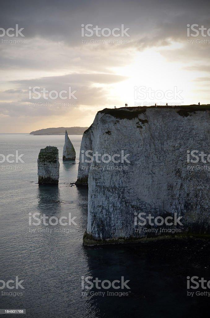 Dorset Coastline stock photo
