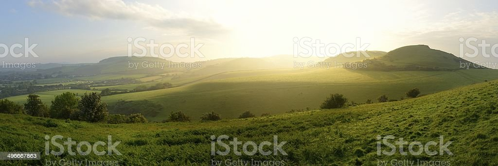 Dorset Dawn stock photo