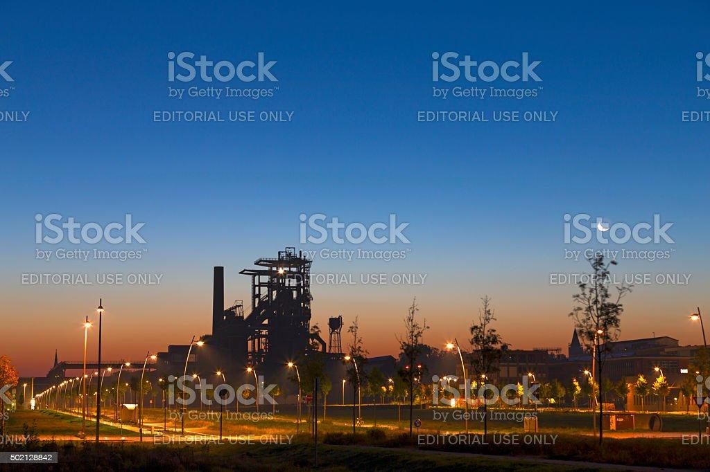 Dortmund Phoenix Park stock photo