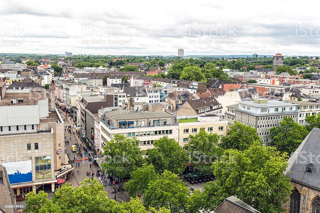 Dortmund Skyline stock photo