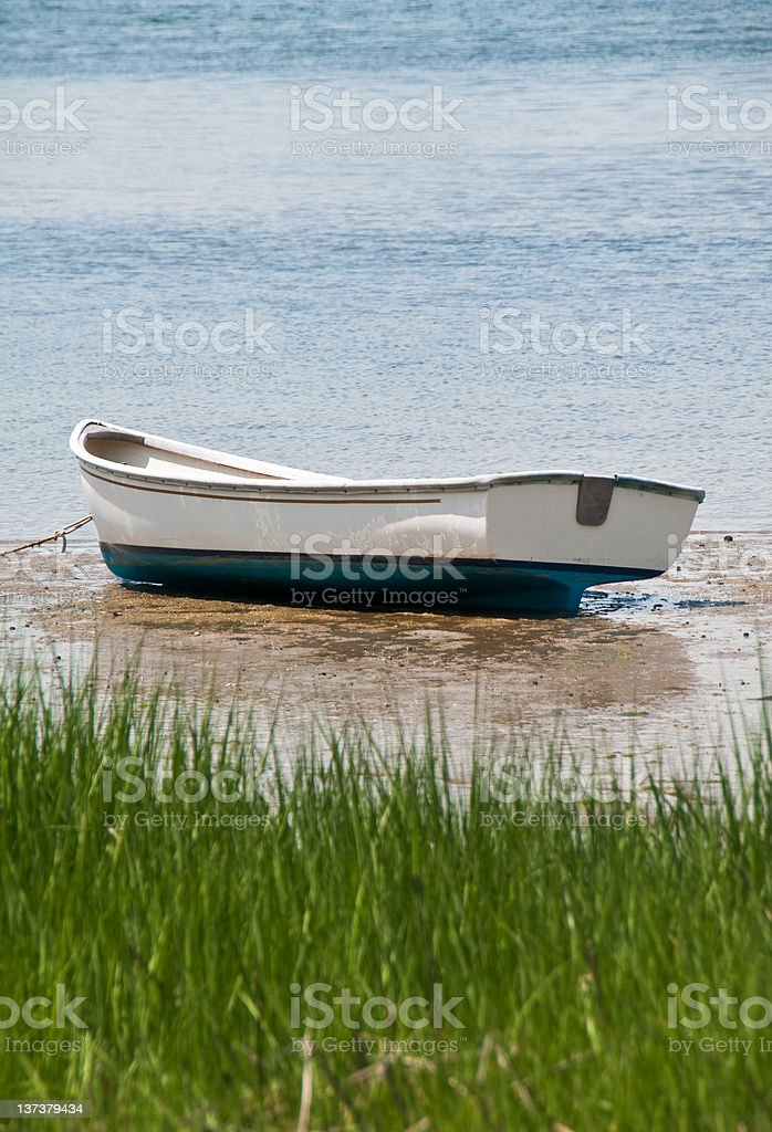 Dory on the Beach royalty-free stock photo