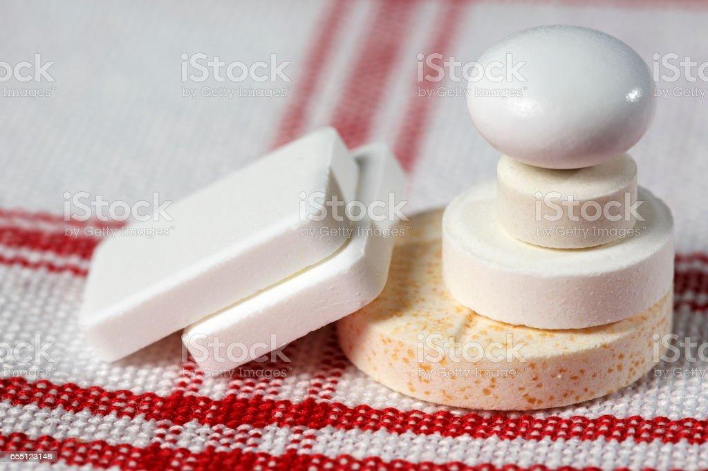Dose a few medicines stock photo