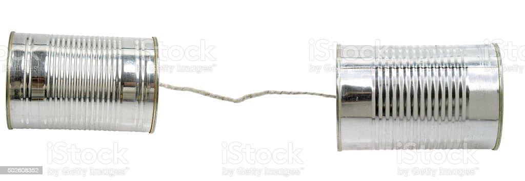 Dosentelefon stock photo