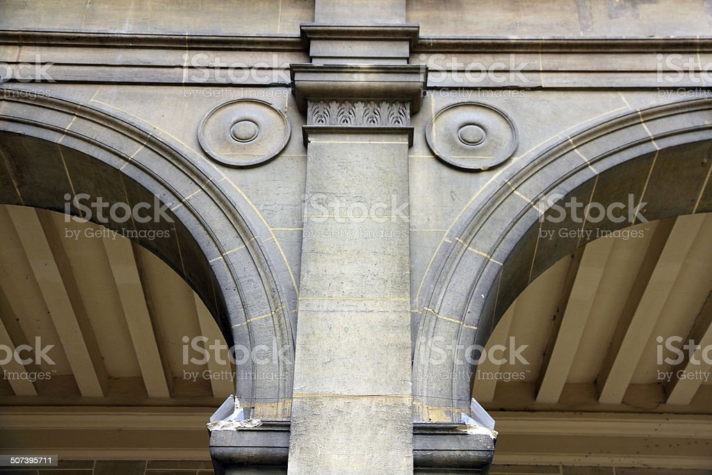 Dots in the Arches stock photo
