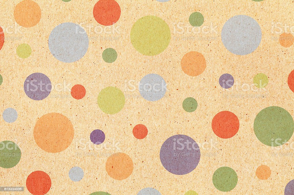 dots pattern paper stock photo