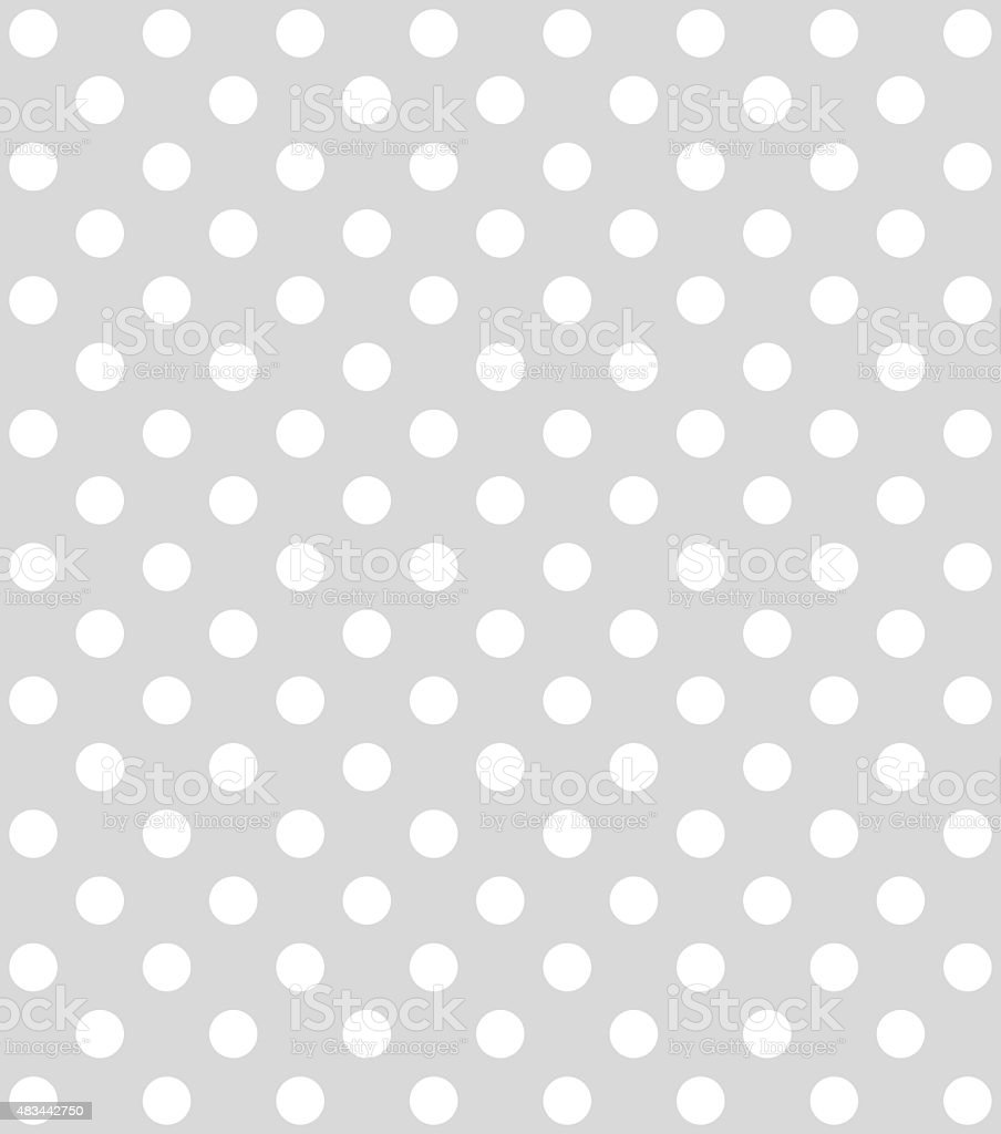 Dotted grey Background with white dots stock photo
