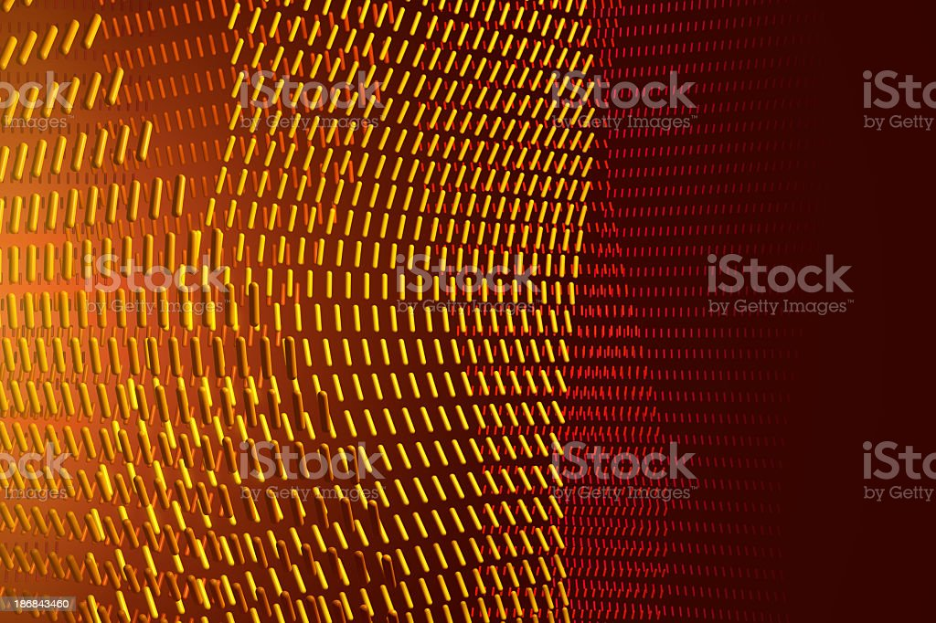 Dotted Lines royalty-free stock photo