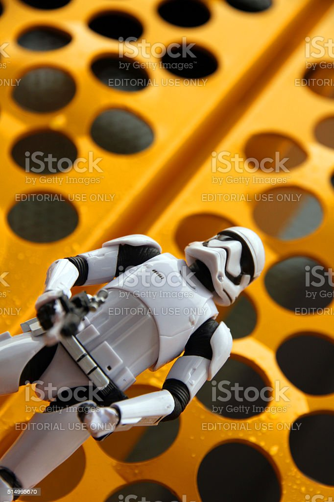 Dotted Trooper stock photo
