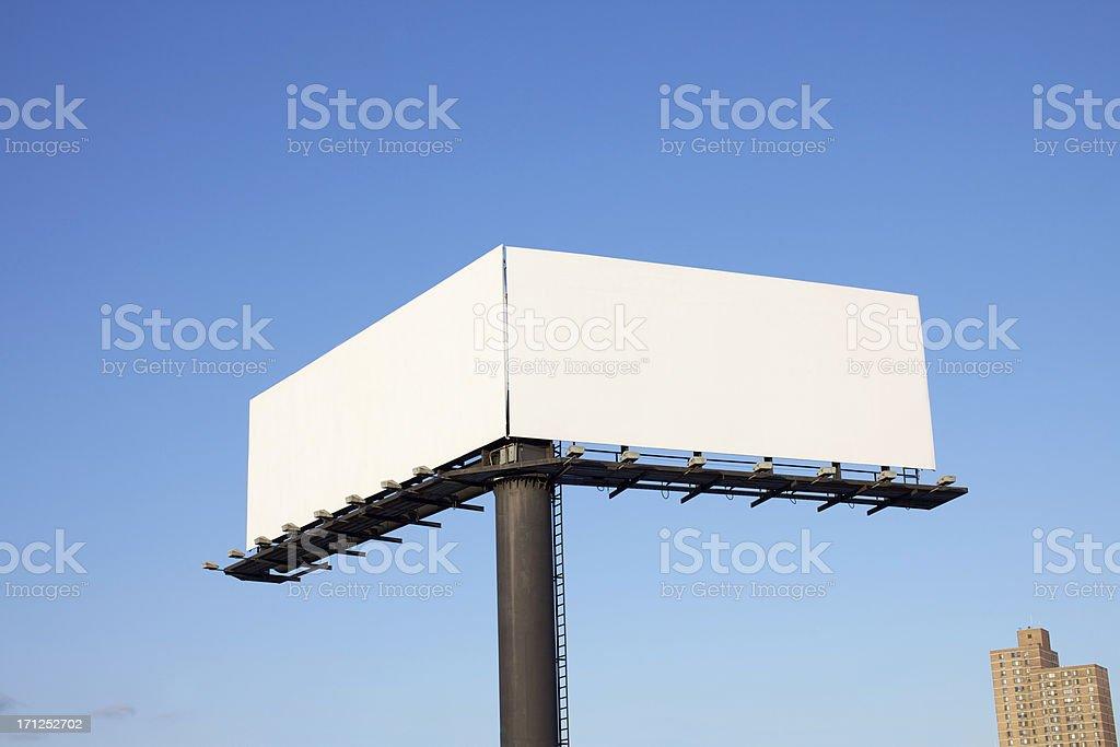 Double Billboard stock photo