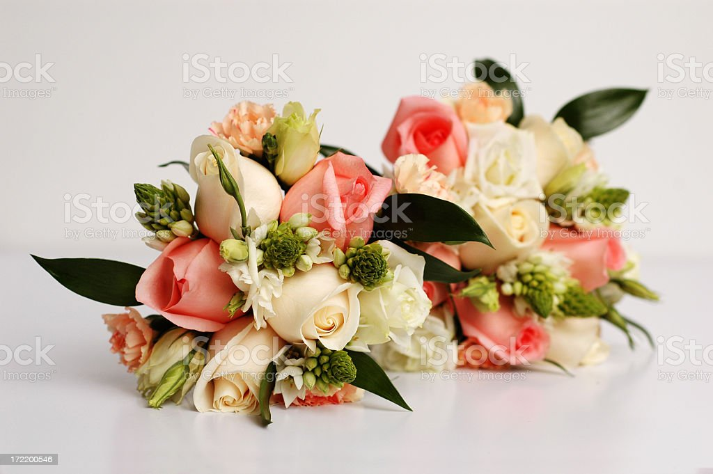 Double Bouquets royalty-free stock photo