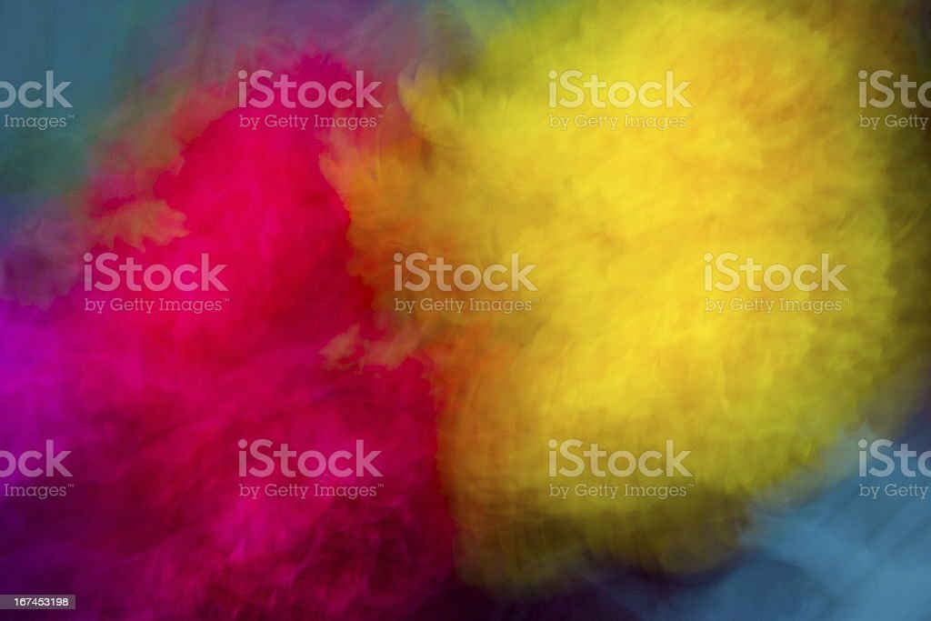 Double color Burst royalty-free stock photo
