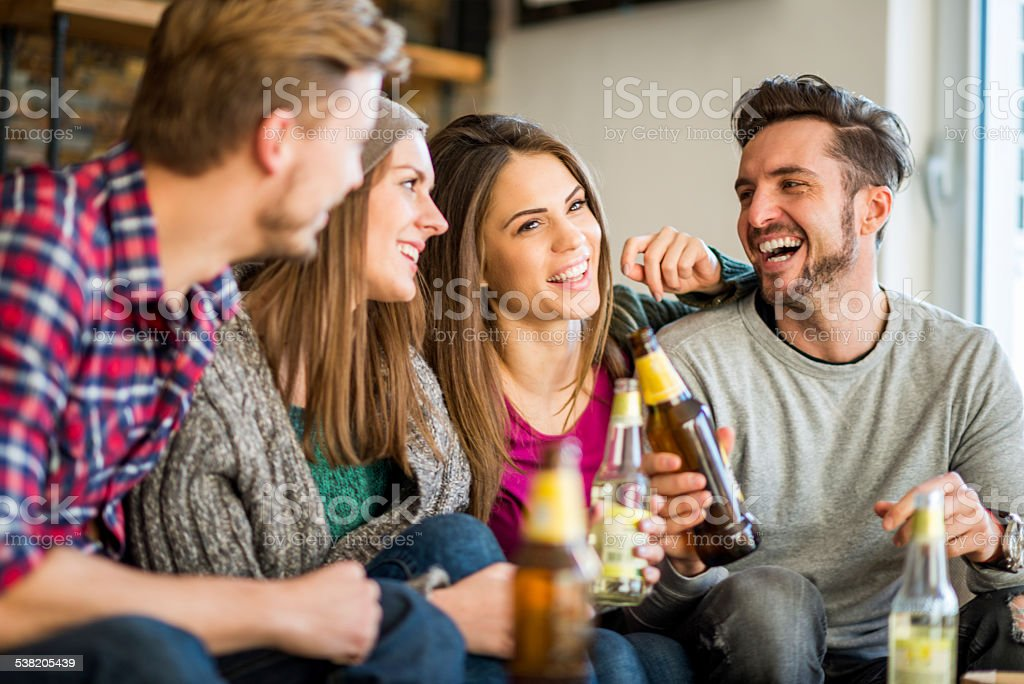 Double date in the flat stock photo