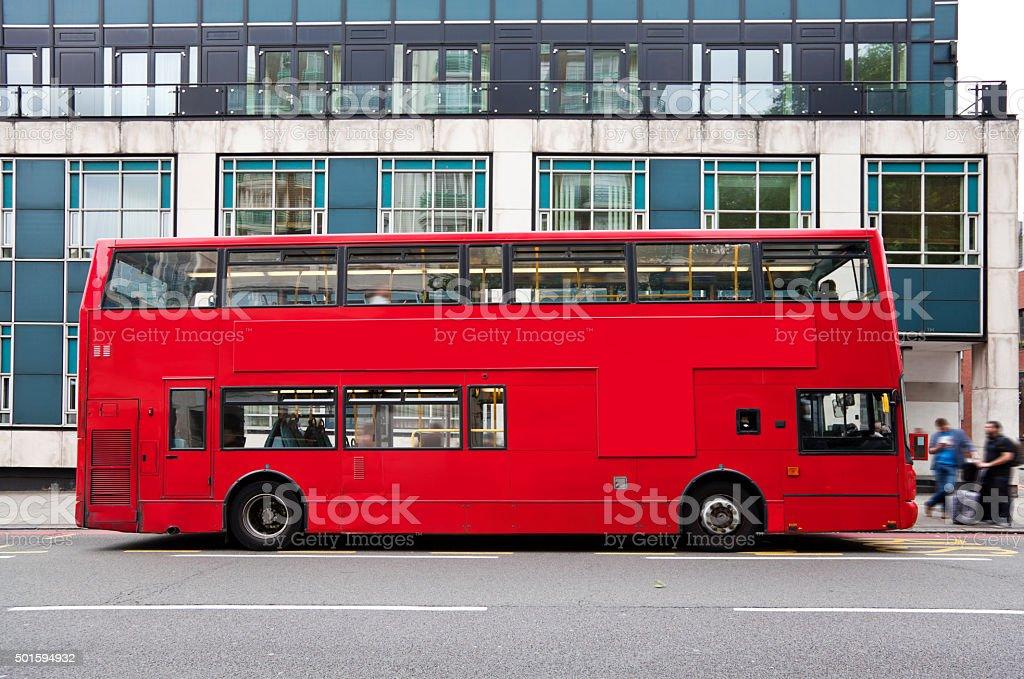 Double Decker bus in London stock photo