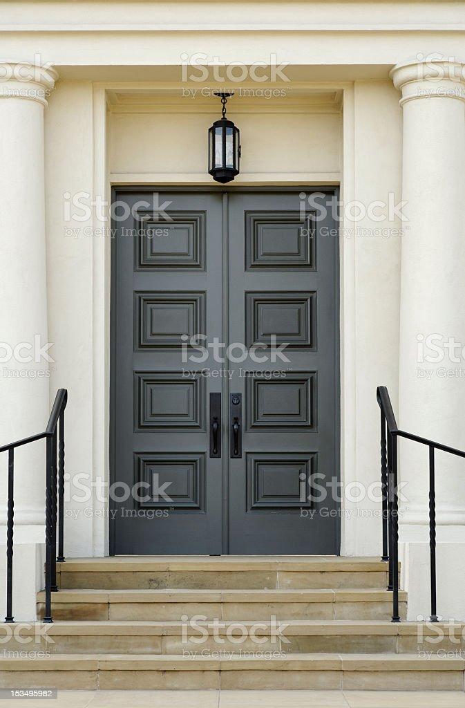 Double Doors royalty-free stock photo