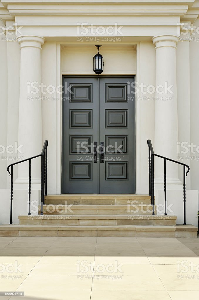 Double Doors stock photo