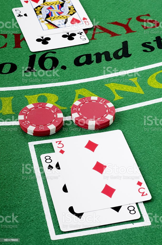 Double Down royalty-free stock photo