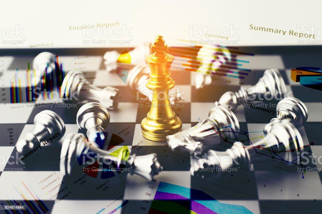 Double exposure of War Financial games concept stock photo