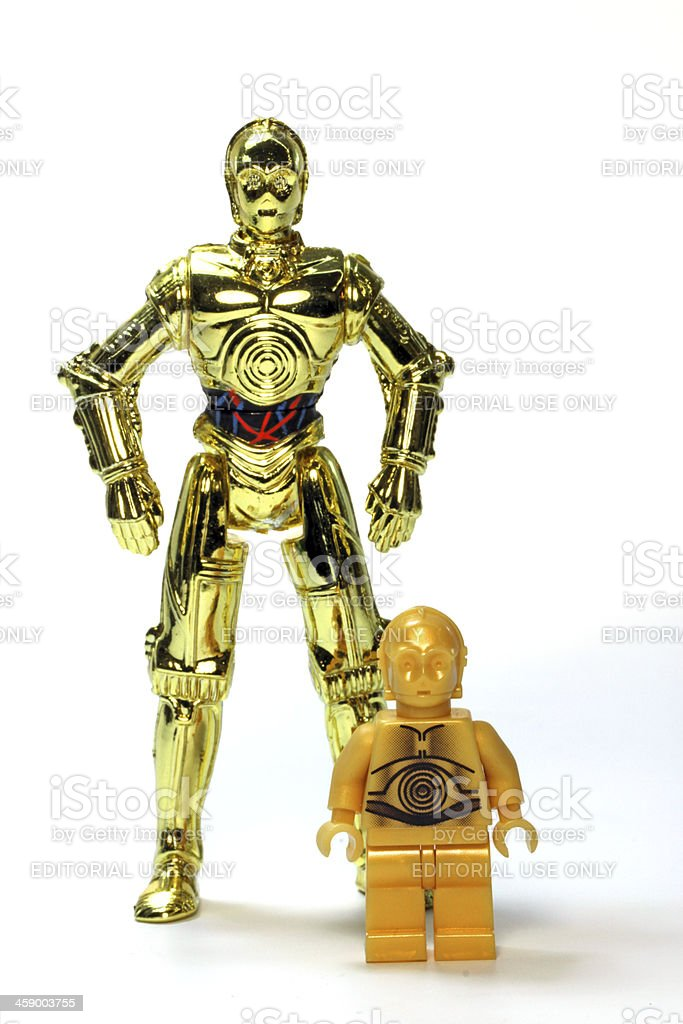 Double Gold royalty-free stock photo