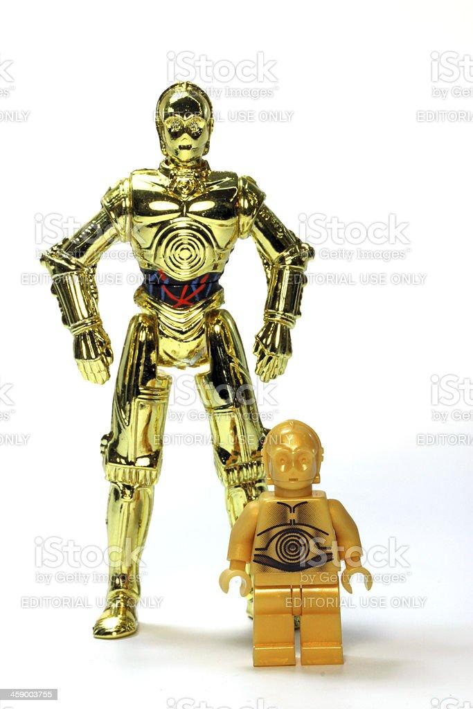 Double Gold stock photo