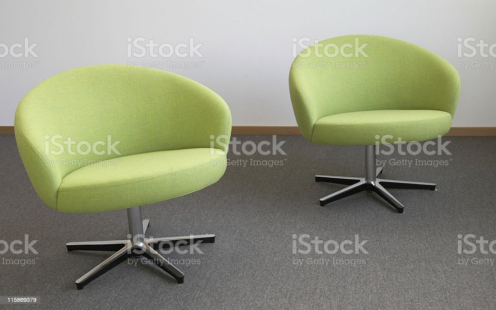 Double green royalty-free stock photo