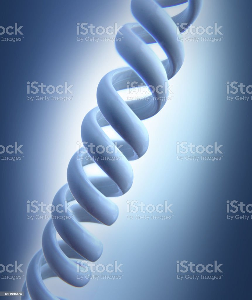 Double Helix Biotechnology royalty-free stock photo