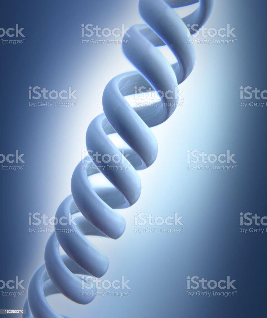 Double Helix Biotechnology stock photo
