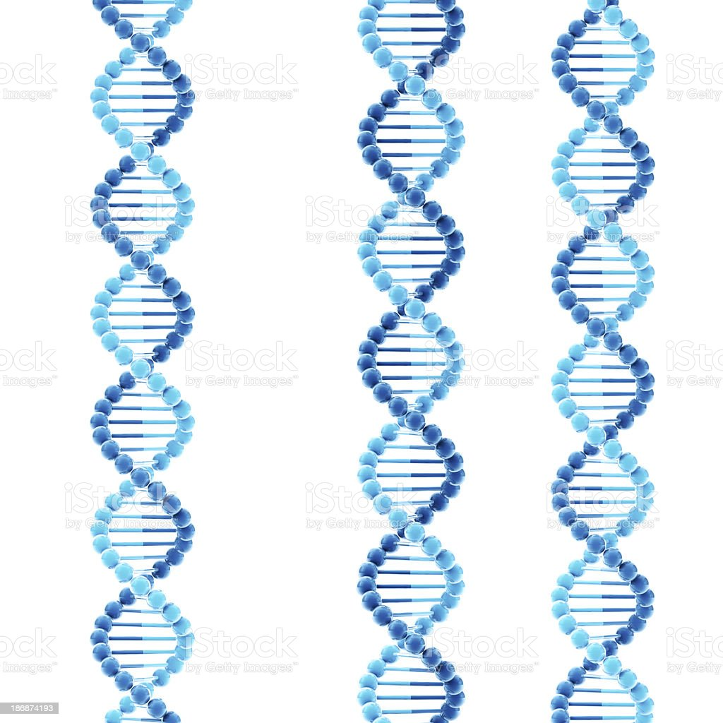 DNA Double Helix Molecular Structure royalty-free stock photo