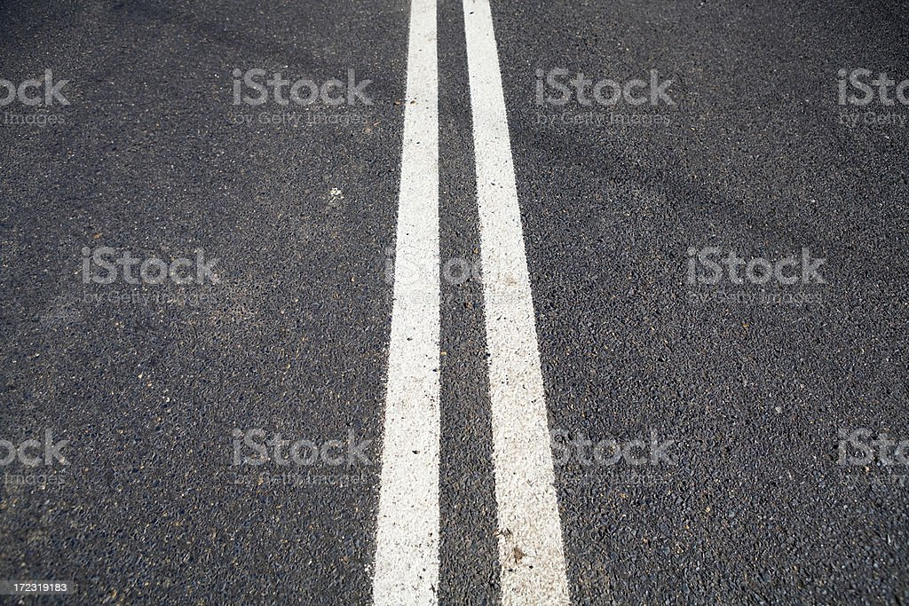Double Lines royalty-free stock photo